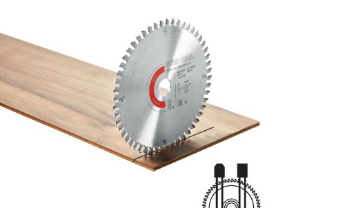Spezial-Sägeblatt HW 160x1,8x20 TF52 Laminate/HPL