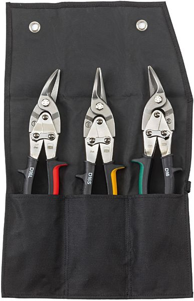 Figuren-Scheren-Set in Rolltasche DSET16