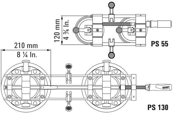 Plattenspanner PS55 online kaufen