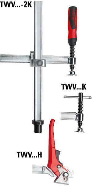 Spannelement mit variabler Ausladung TWV16 200/150 (2K-Kunststoffgriff)   online kaufen