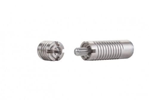 Invis Mx2 Verbinder-Set mit Eindrehmutter 14 mm