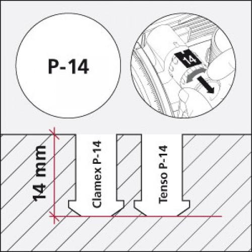 Clamex P-14 Starterkit (Karton mit 300 Paar inkl. Bohrlehre) online kaufen