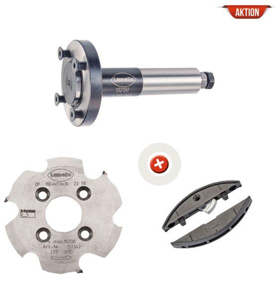 P-System CNC-Starterset, Schaft 25 mm