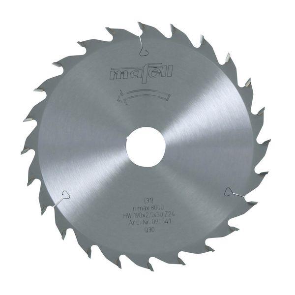 Sägeblatt-HM 190 x 1,8/2,5 x 30 mm, Z 24, WZ