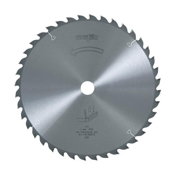 Sägeblatt-HM 330 x 2,2/3,6 x 30 mm, Z 40, WZ
