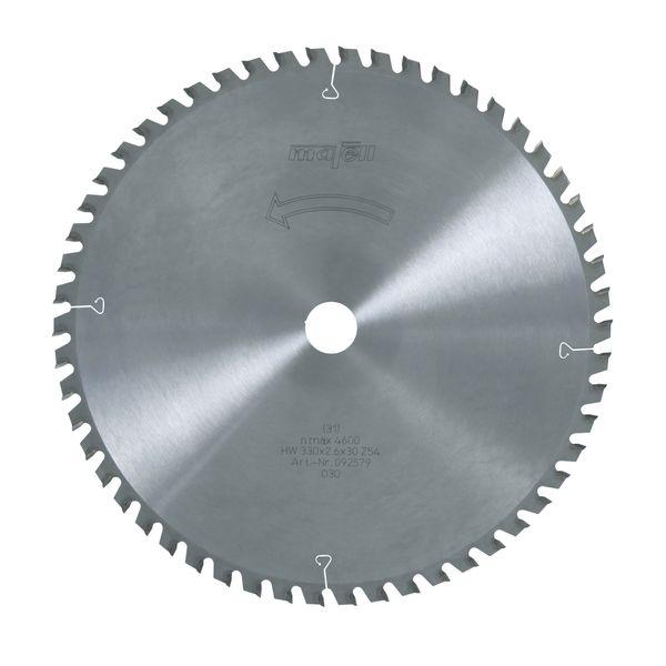 Sägeblatt-HM 330 x 2,2/2,6 x 30 mm, Z 54, WZ/FA