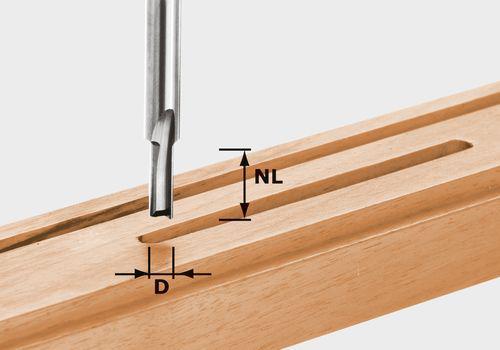 Nutfräser HW Schaft 8 mm HW S8 D5/12