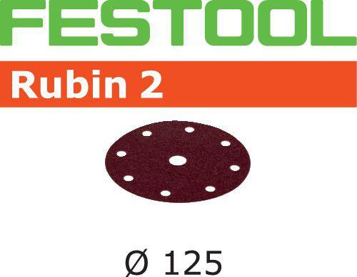 Schleifscheiben STF D125/8 P120 RU2/10