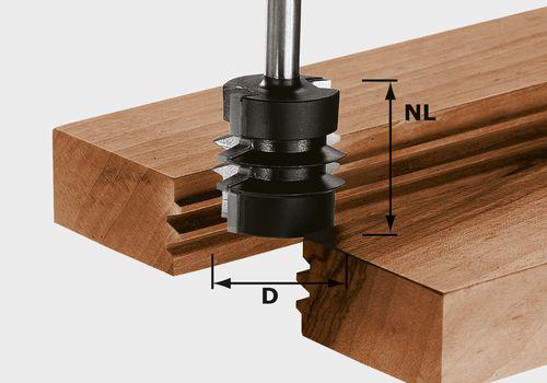 Verleimfräser HW Schaft 8 mm HW S8 D34/NL32