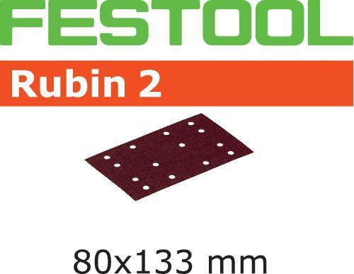Schleifstreifen STF 80X133 P40 RU2/10