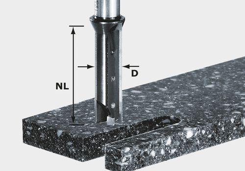 Wendeplatten-Nutfräser HW Schaft 12 mm HW S12 D14/45 WM