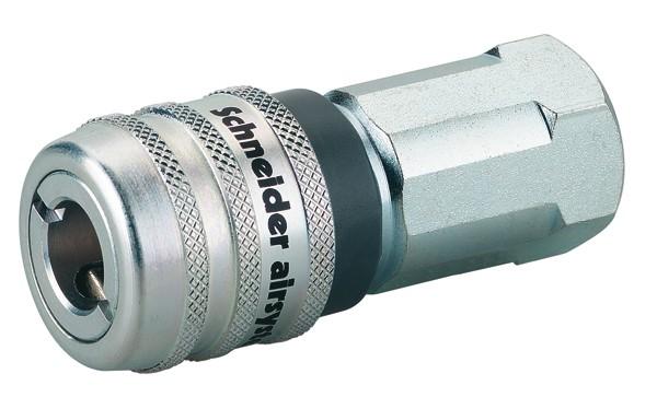 Sicherheits-Schnellkupplungen mit Innengewinde SSK-NW7,6-EURO-G1/4i