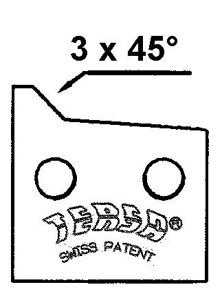 TERSA HS-Fasemesser 3 x 45° - LI