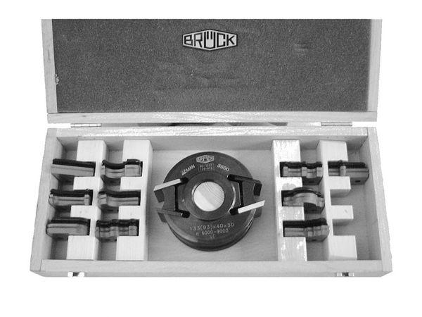 BRÜCK UNI-Set m. 10 Profilen kpl. m. Profil Nr. 1 - 10