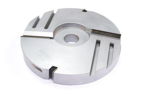 BRÜCK WP-Abplattprofiler gerade Z 2+2 200 x 35 x 30 mm, LM-Ausführung