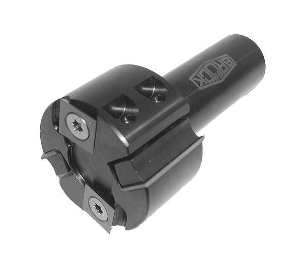 BRÜCK WP-Füge- u. Falzmesserkopf für CNC-Maschinen D=60 x SB=30 GL=94,3 S=25mm Z2+V2