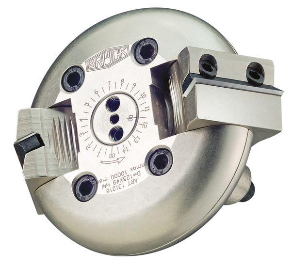 BRÜCK CNC-Schwenkmesserkopf Z 2 SYNCRO 5 125 x 50 mm S = 25 mm +/- bis 75° verstellbar