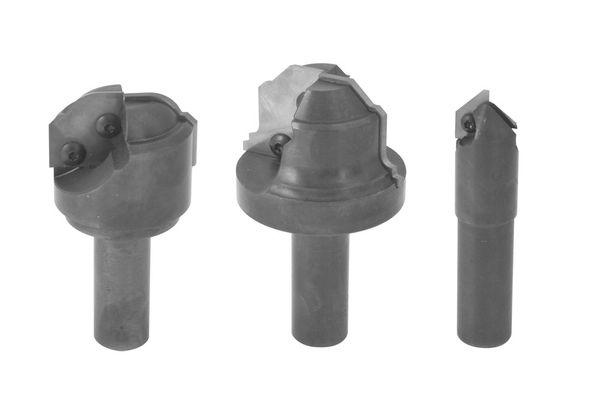 BRÜCK Individual WP-Profilfräser Garnitur 4-tlg - Z 1/2, D=24/30/60/70 mm, S=20/25 mm
