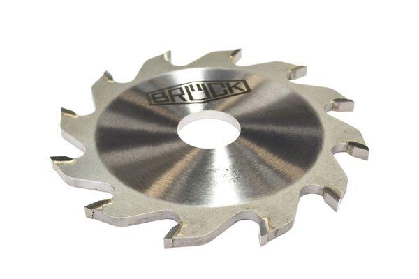 BRÜCK HW-Flachzahnnuter Z 12 - FZ - MEC 125 x 10,0/8,0 x 30 mm