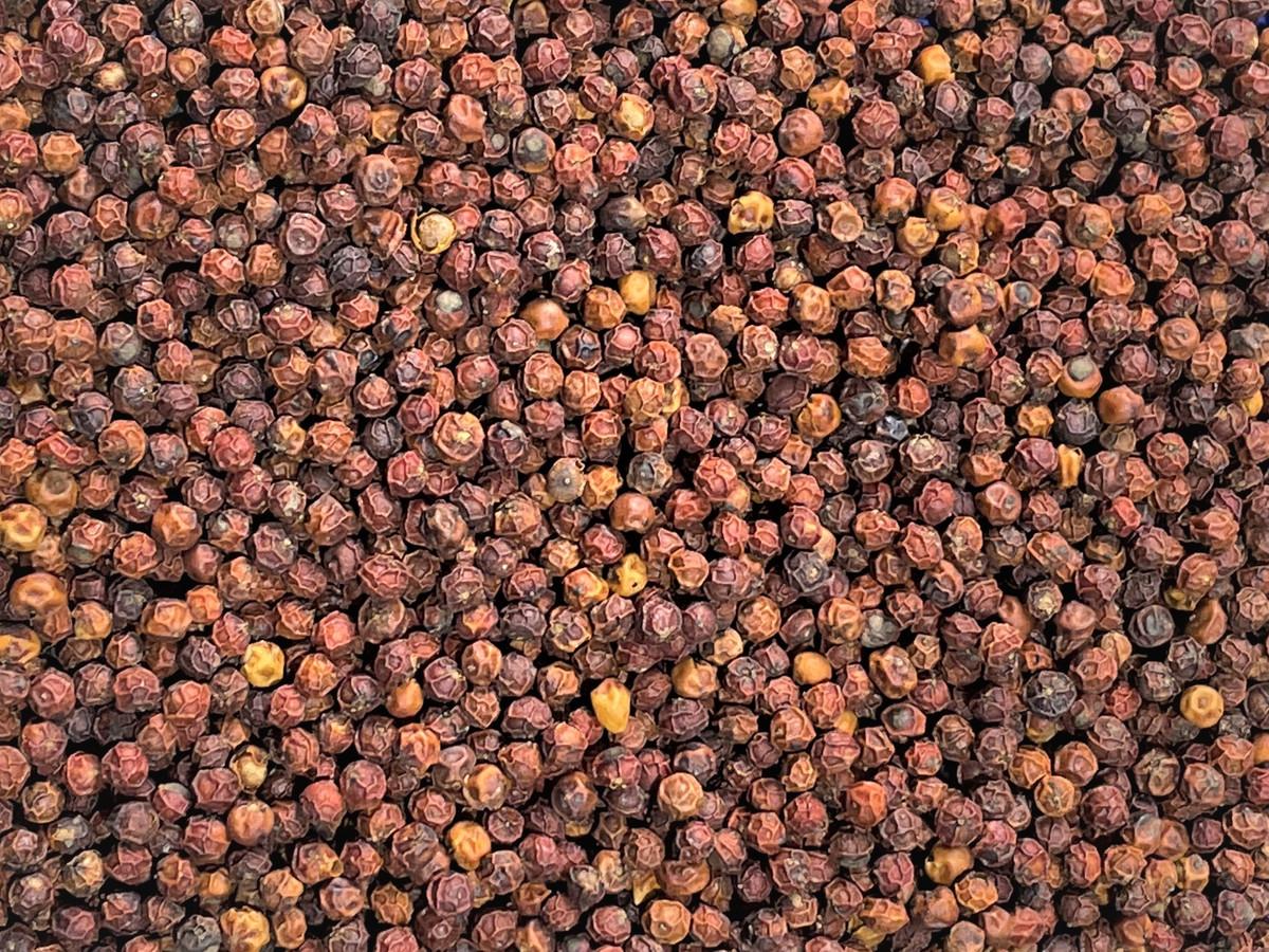 Echter Roter Kampot Pfeffer ganz 50g