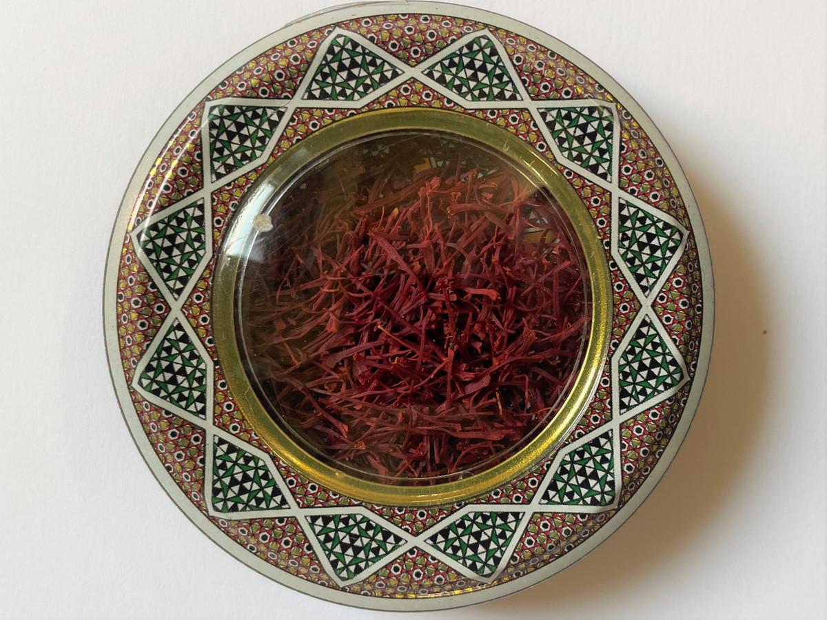 Safranfäden persisch 1x 1g in Dose