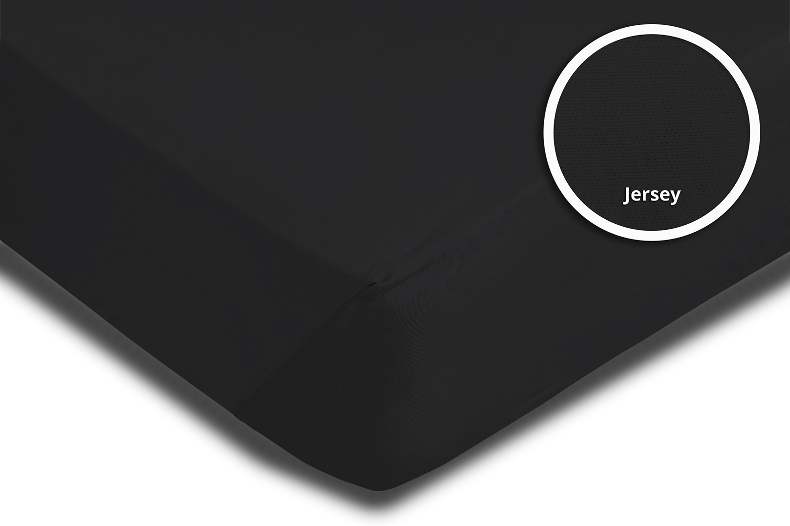 spannbettlaken spannbetttuch schwarz 140x200 cm 160x200 cm jersey baumwolle spannbettlaken. Black Bedroom Furniture Sets. Home Design Ideas