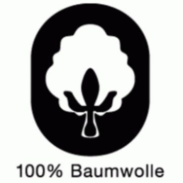 Rot Weiss Essen Bettwäsche 135 x 200 cm rot grau Streifen Baumwolle – Bild 3