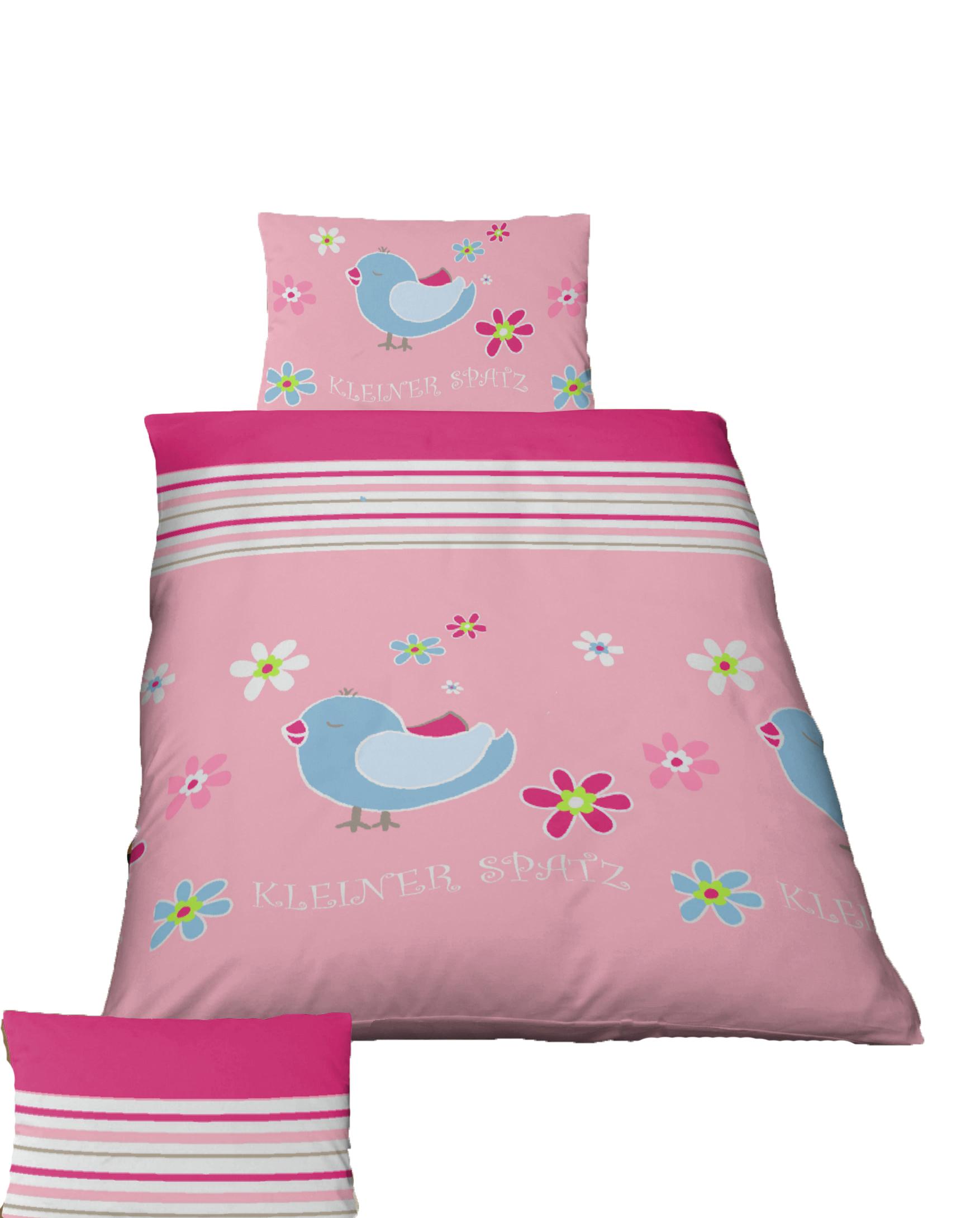 2 tlg kinder baby bettw sche 100 x 135 cm spatz biber baumwolle b ware 4260573699186 ebay. Black Bedroom Furniture Sets. Home Design Ideas