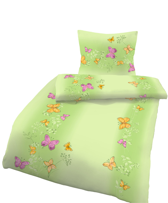 4 tlg bettw sche 135x200cm 40x80cm schmetterling baumwolle b ware bettw sche baumwolle 135x200. Black Bedroom Furniture Sets. Home Design Ideas