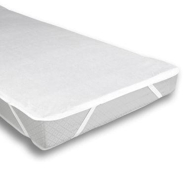 Matratzenschoner Matratzenauflage 200 x 200 cm Wasserdicht Baumwolle – Bild 1