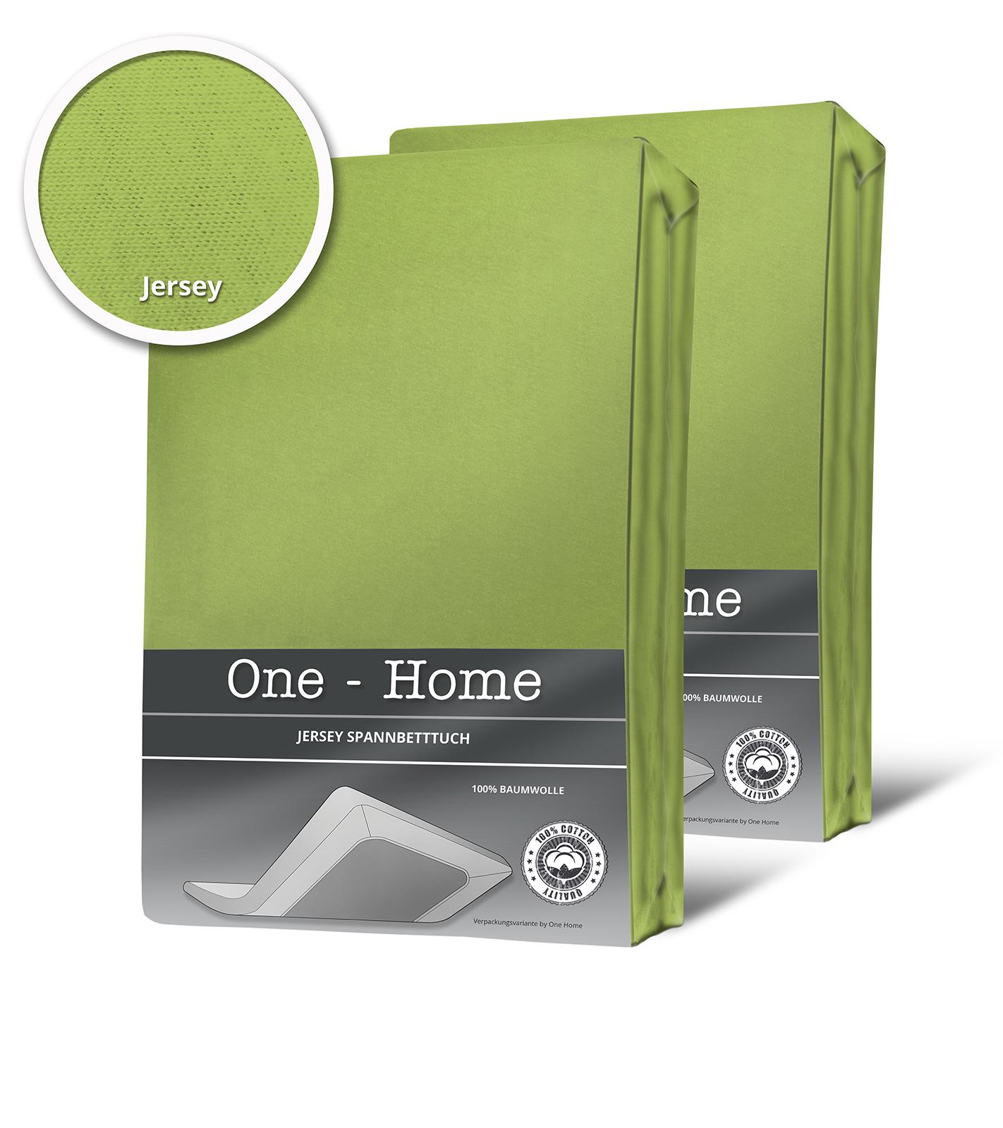 2er pack spannbettlaken bettlaken gr n 90x200 cm 100x200 cm jersey baumwolle spannbettlaken. Black Bedroom Furniture Sets. Home Design Ideas