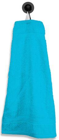 Gästetuch Gästehandtuch türkis 30x50 cm Baumwolle Handtuch Frottee – Bild 1