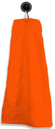Gästetuch Gästehandtuch orange terra 30x50 cm Baumwolle Handtuch Frottee – Bild 1