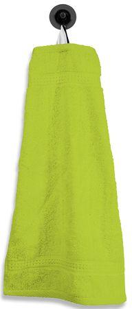 Gästetuch Gästehandtuch grün apfel 30x50 cm Baumwolle Handtuch Frottee – Bild 1
