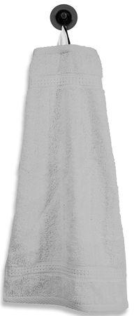 Gästetuch Gästehandtuch silber 30x50 cm Baumwolle Handtuch Frottee – Bild 1