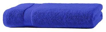 Duschtuch royal blau 70x140 cm Baumwolle schnelltrocknend Frottee Frottiertuch – Bild 3