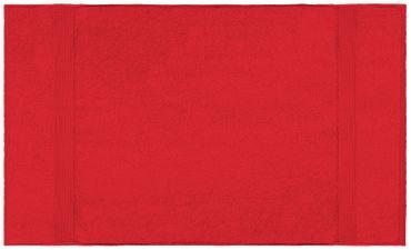 Duschtuch rot 70x140 cm Baumwolle schnelltrocknend Frottee Frottiertuch – Bild 2