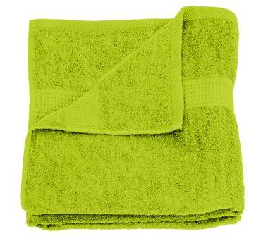 Duschtuch grün apfel 70x140 cm Baumwolle schnelltrocknend Frottee Frottiertuch – Bild 1