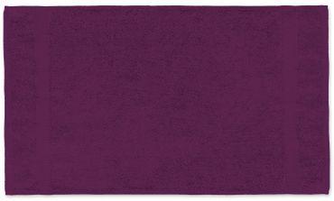 2 Handtücher lila 50x100 cm Set Baumwolle Handtuch Frottee flauschig weich – Bild 2