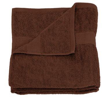 2 Handtücher braun 50x100 cm Set Baumwolle Handtuch Frottee flauschig weich – Bild 3