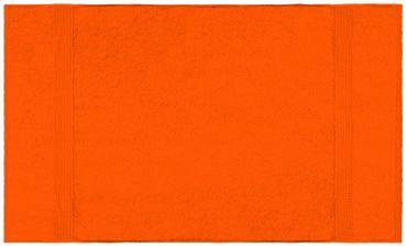 2 Duschtücher orange terra 70x140 cm Set Baumwolle Frottee Duschtuch groß – Bild 2