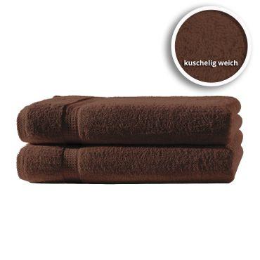 2er Set Gästetücher Handtücher Duschtücher Badetücher Frottee 100% Baumwolle – Bild 11