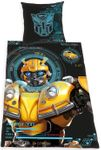 Transformers Bumblebee Bettwäsche 135x200 cm Renforce Baumwolle Wende Set 001