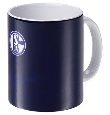 FC Schalke 04 Tasse Magic Mug Zaubertasse blau S04 Tee oder Kaffeebecher 0,3 L – Bild 1