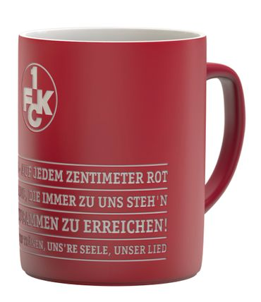 1. FC Kaiserslautern Tasse Hymne FCK Tee / Kaffeebecher 0,3 Liter – Bild 1
