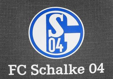 FC Schalke 04 Sportbeutel Turnbeutel grau blau weiß S04 Emblem Logo – Bild 2