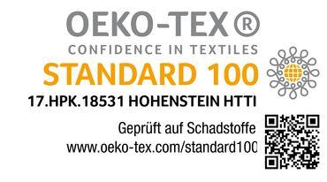 2er Pack Kissenbezug Kissenhülle 40x80 cm silber Uni Jersey Baumwolle Set – Bild 5