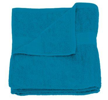 Handtuch petrol 50x100 cm Baumwolle schnelltrocknend Frottee Frottiertuch – Bild 1