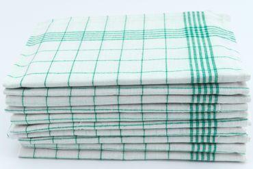 10 Geschirrtücher 50x70 cm grün Küchentücher Geschirrtuch Set 100% Baumwolle – Bild 2