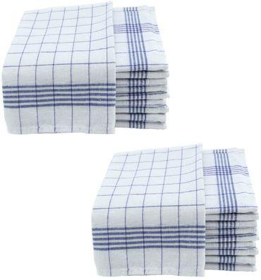 Geschirrtücher 50x70cm Küchentücher Geschirrtuch 10er bis 50er Pack Baumwolle – Bild 11